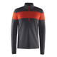 Craft Spark Halfzip Pullover Men Black Melange/Bolt Melange